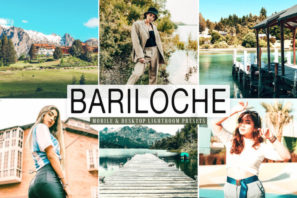 Bariloche Mobile & Desktop Lightroom Presets