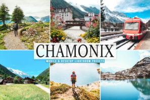 Chamonix Mobile & Desktop Lightroom Presets