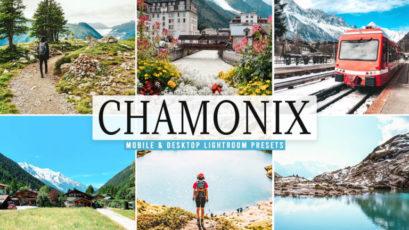 Chamonix Mobile & Desktop Lightroom Presets