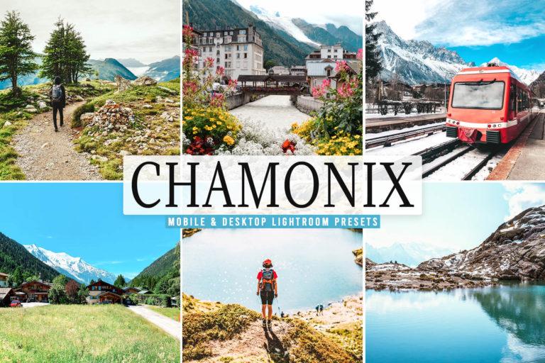 Preview image of Chamonix Mobile & Desktop Lightroom Presets