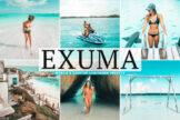 Last preview image of Exuma Mobile & Desktop Lightroom Presets