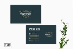 Minimal Creative Business Card Template Vol. 2