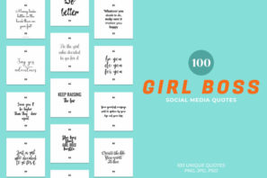 Girl Boss Social Media Quotes