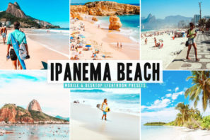 Ipanema Beach Mobile & Desktop Lightroom Presets
