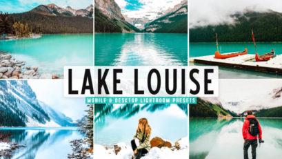 Lake Louise Mobile & Desktop Lightroom Presets
