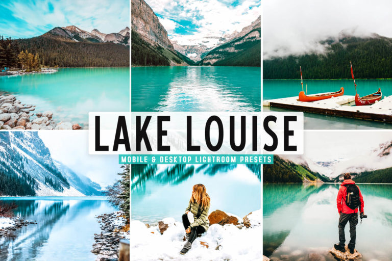 Preview image of Lake Louise Mobile & Desktop Lightroom Presets