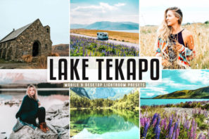 Lake Tekapo Mobile & Desktop Lightroom Presets