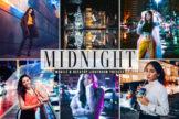 Last preview image of Midnight Mobile & Desktop Lightroom Presets