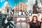 Last preview image of Milano Mobile & Desktop Lightroom Presets