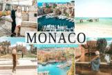 Last preview image of Monaco Mobile & Desktop Lightroom Presets