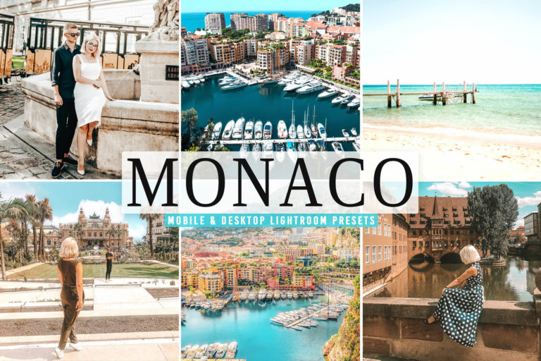 Preview image of Monaco Mobile & Desktop Lightroom Presets