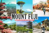 Last preview image of Mount Fuji Mobile & Desktop Lightroom Presets