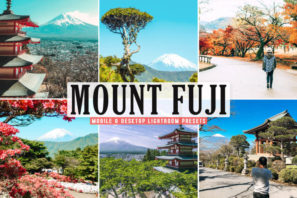 Mount Fuji Mobile & Desktop Lightroom Presets