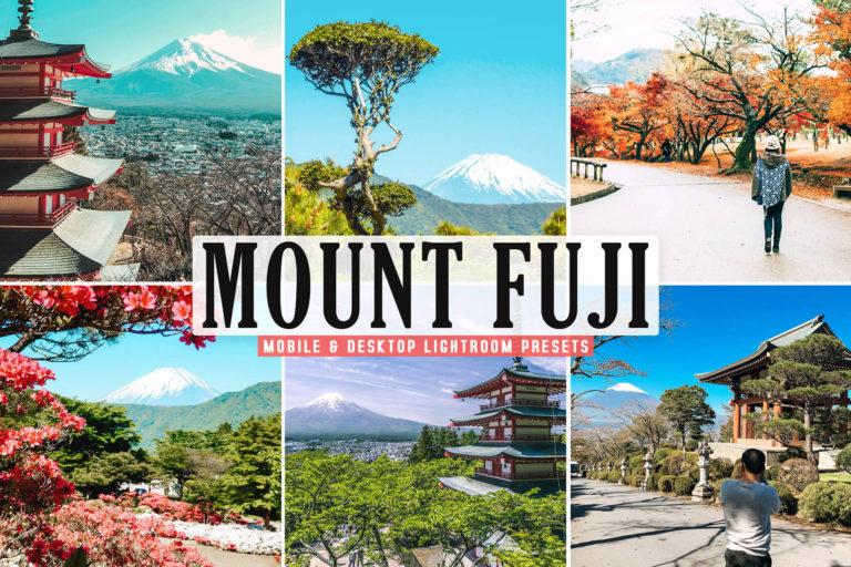 Preview image of Mount Fuji Mobile & Desktop Lightroom Presets
