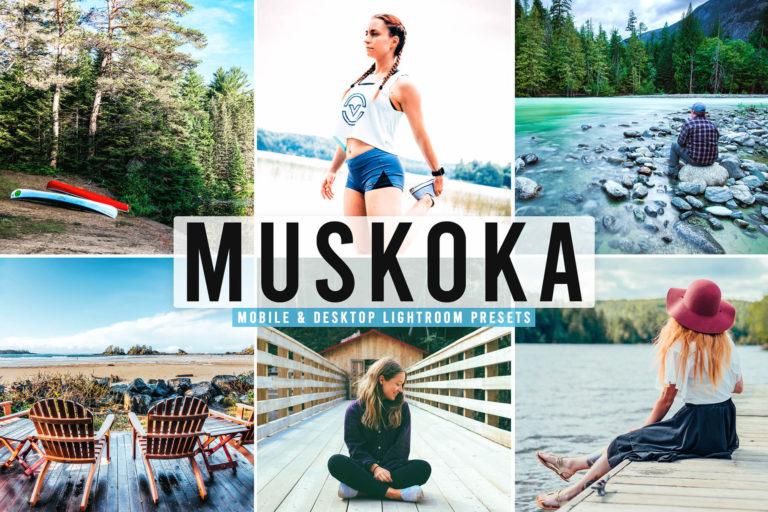 Preview image of Muskoka Mobile & Desktop Lightroom Presets