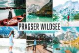 Last preview image of Pragser Wildsee Mobile & Desktop Lightroom Presets