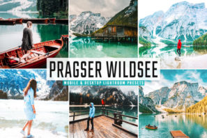 Pragser Wildsee Mobile & Desktop Lightroom Presets
