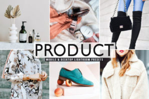 Product Mobile & Desktop Lightroom Presets