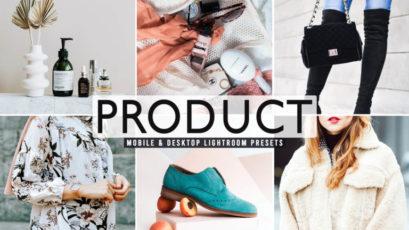 Product Mobile & Desktop Lightroom Presets