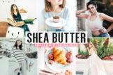 Last preview image of Shea Butter Mobile & Desktop Lightroom Presets