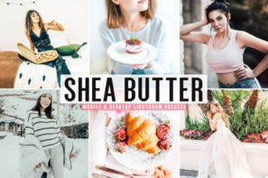Shea Butter Mobile & Desktop Lightroom Presets