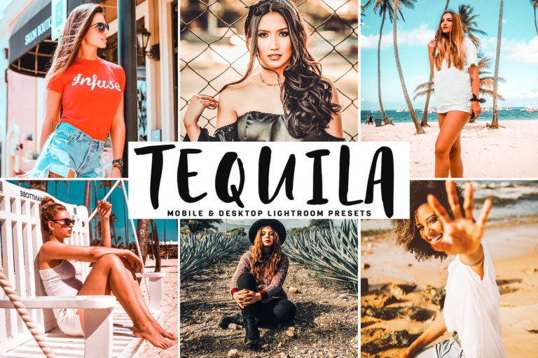 Preview image of Tequila Mobile & Desktop Lightroom Presets