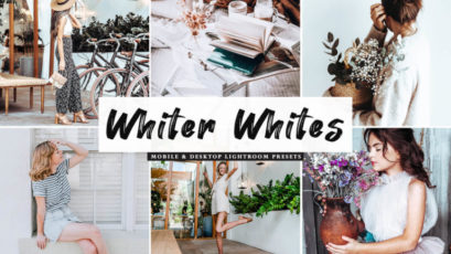 Whiter Whites Mobile & Desktop Lightroom Presets