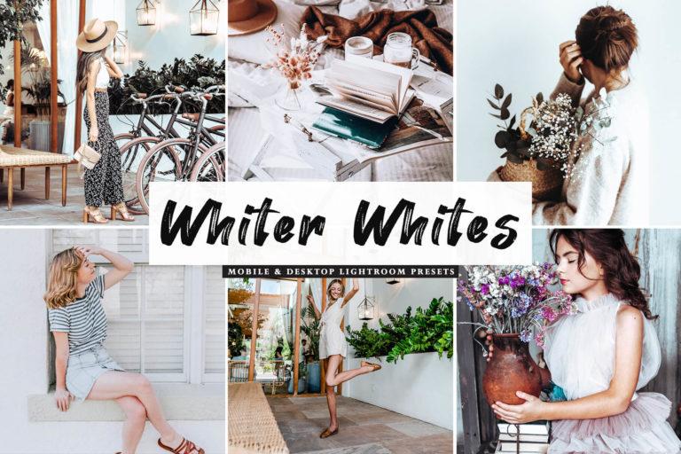 Preview image of Whiter Whites Mobile & Desktop Lightroom Presets