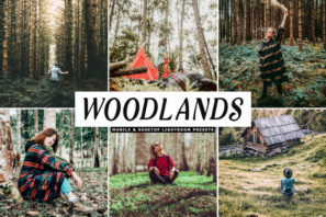 Woodlands Mobile & Desktop Lightroom Presets