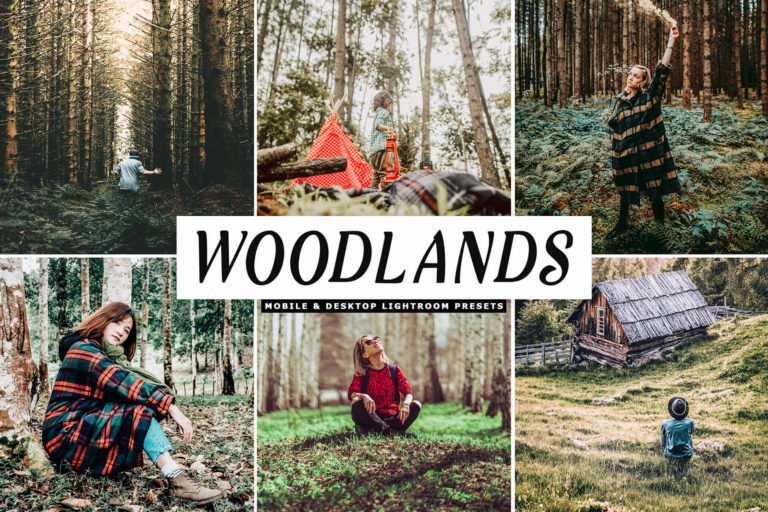 Preview image of Woodlands Mobile & Desktop Lightroom Presets