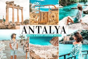 Antalya Mobile & Desktop Lightroom Presets