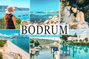Bodrum Mobile & Desktop Lightroom Presets