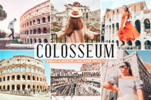 Colosseum Mobile & Desktop Lightroom Presets