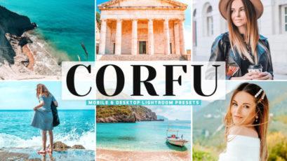 Corfu Mobile & Desktop Lightroom Presets