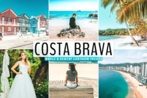 Costa Brava Mobile & Desktop Lightroom Presets