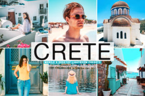 Crete Mobile & Desktop Lightroom Presets