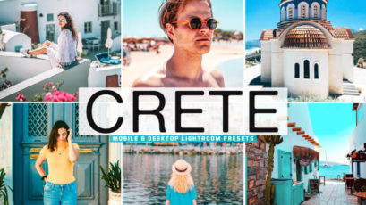 Crete Mobile & Desktop Lightroom Presets