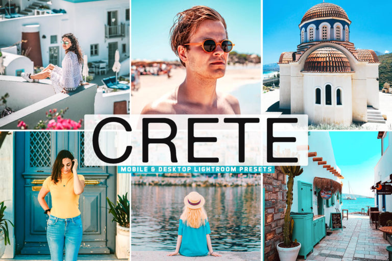 Preview image of Crete Mobile & Desktop Lightroom Presets