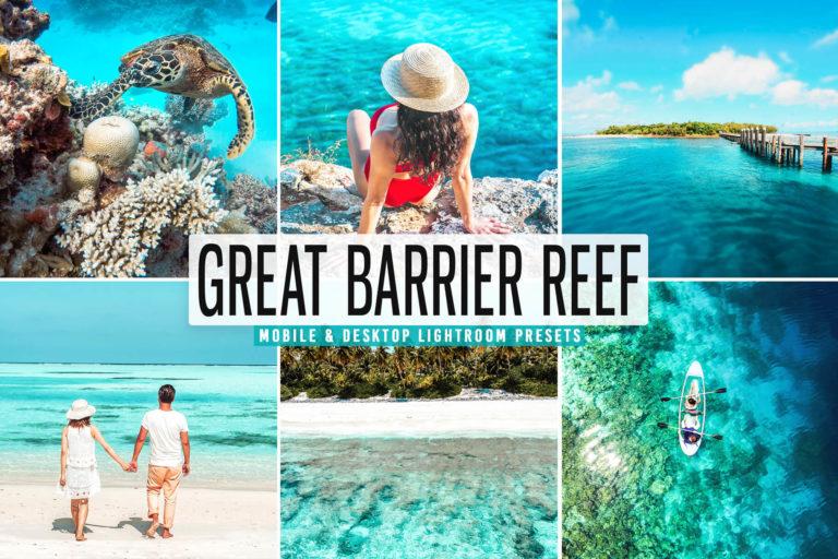 Preview image of Great Barrier Reef Mobile & Desktop Lightroom Presets