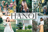 Last preview image of Hanoi Mobile & Desktop Lightroom Presets