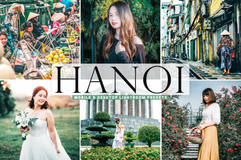 Preview image of Hanoi Mobile & Desktop Lightroom Presets