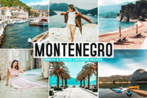 Montenegro Mobile & Desktop Lightroom Presets
