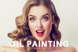 Last preview image of Oil Painting Photoshop Actions
