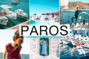 Paros Mobile & Desktop Lightroom Presets