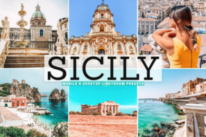 Sicily Mobile & Desktop Lightroom Presets