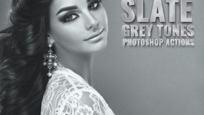 Slate Grey Tones Ambient Photoshop Action