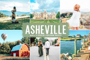 Asheville Mobile & Desktop Lightroom Presets