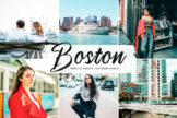 Last preview image of Boston Mobile & Desktop Lightroom Presets