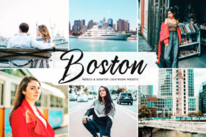 Boston Mobile & Desktop Lightroom Presets