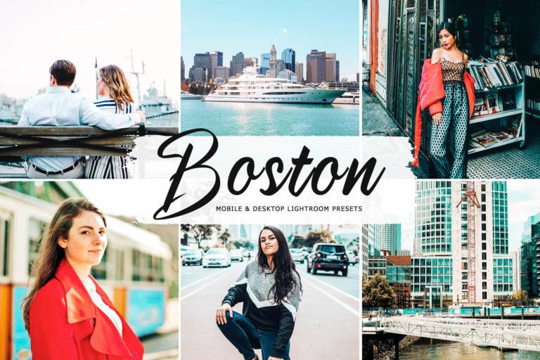 Preview image of Boston Mobile & Desktop Lightroom Presets